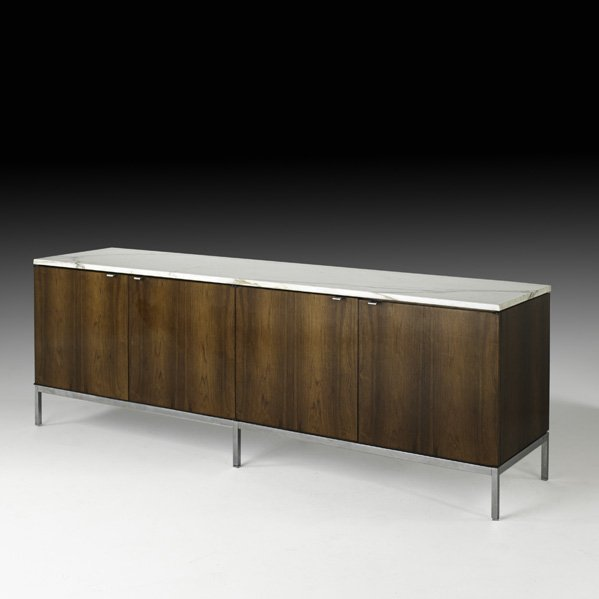 564: FLORENCE KNOLL Four-door cabinet