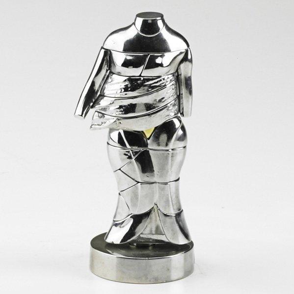 "596: MIGUEL BERROCAL; ""Mini Cariatide"" erotic sculpture"