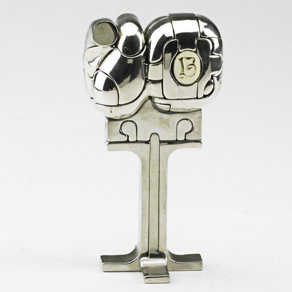 """597: MIGUEL BERROCAL """"Mini Christina"""" sculpture"""