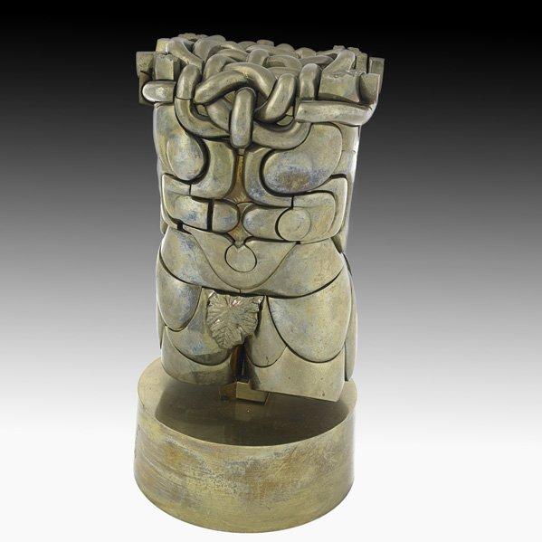 "599: MIGUEL BERROCAL ""Goliath"" erotic puzzle sculpture"