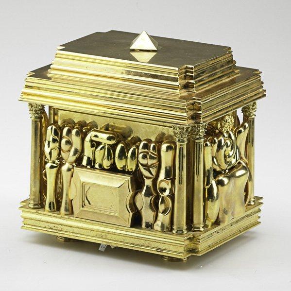 "600: MIGUEL BERROCAL Large puzzle box ""Cofanetto"""
