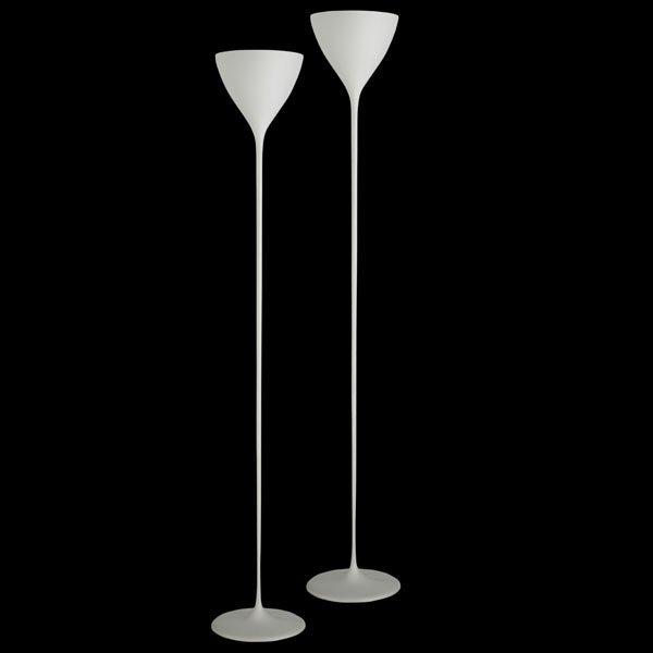 604: MAX BILL Pair of floor lamps