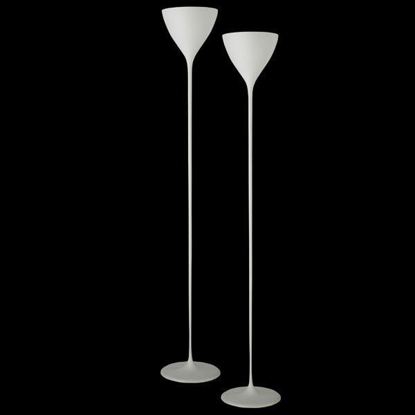 605: MAX BILL Pair of floor lamps