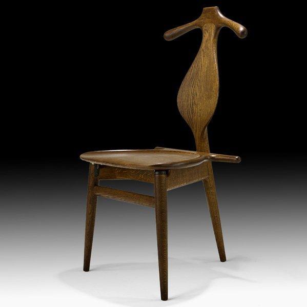 609: HANS WEGNER Valet chair