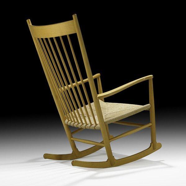 613: HANS WEGNER Rocking chair