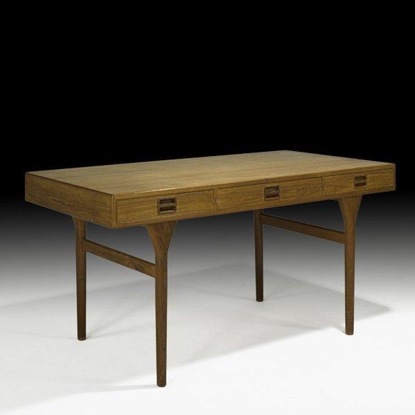 618: NANNA DITZEL; SOREN WILLADSEN Teak Desk