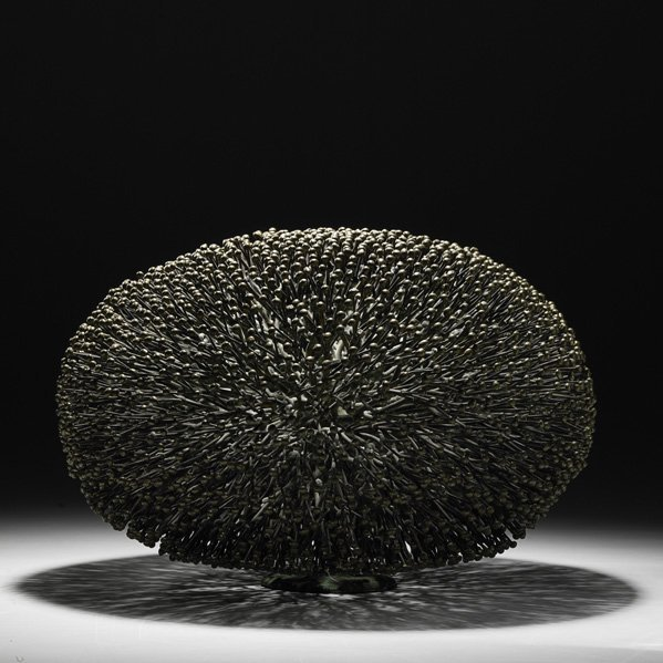 729: HARRY BERTOIA Bush sculpture