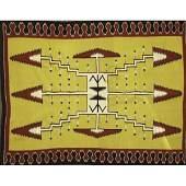 2108: THREE 20TH C. NAVAJO WEAVINGS;