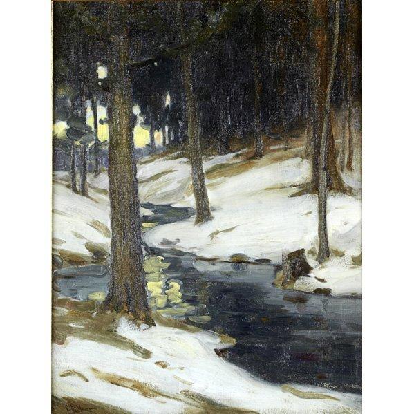 2245: CHARLES MORRIS YOUNG (American, 1869-1964);