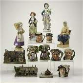 660 FIGURAL POTTERY GROUP