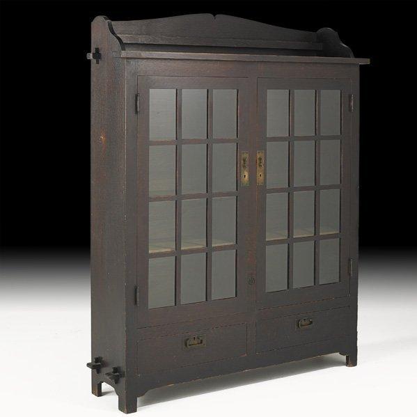 6: ROYCROFT Double-door bookcase