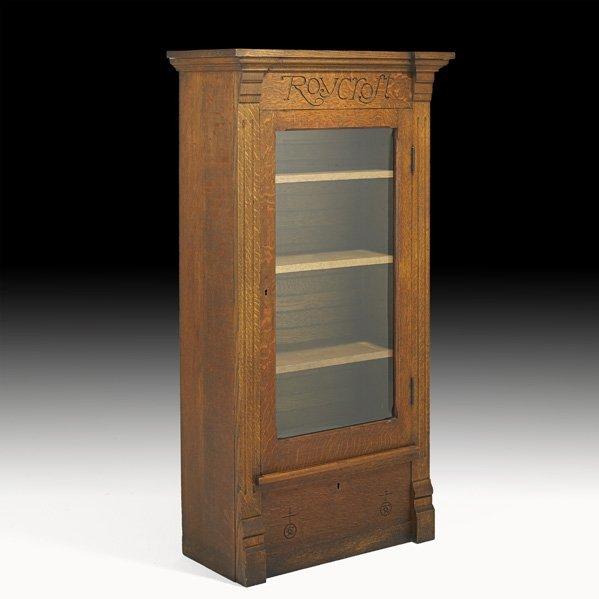 19: ROYCROFT Rare bookcase