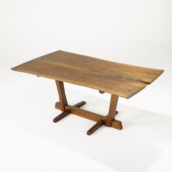 1001: GEORGE NAKASHIMA Conoid dining table
