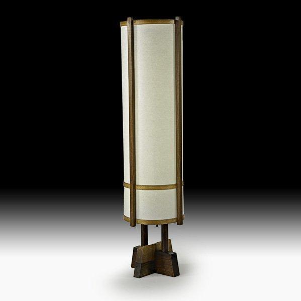 1003: GEORGE NAKASHIMA Floor lamp