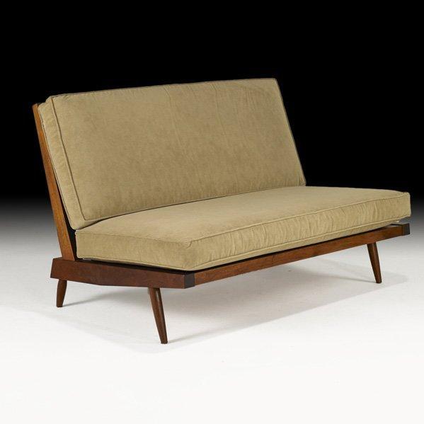 1006: GEORGE NAKASHIMA Cushion settee