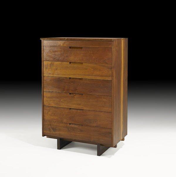 1012: GEORGE NAKASHIMA Tall dresser