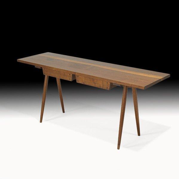 1017: GEORGE NAKASHIMA  Early console table, 1958