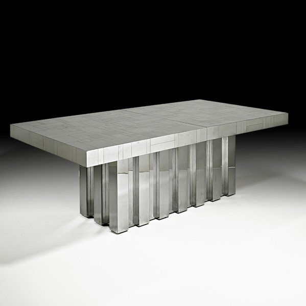 1028: PAUL EVANS Cityscape Dining table