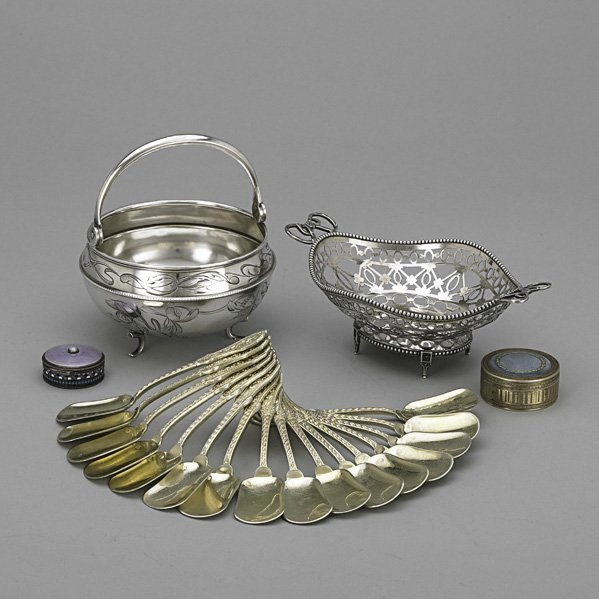 10: RUSSIAN AND CONTINENTAL SILVER