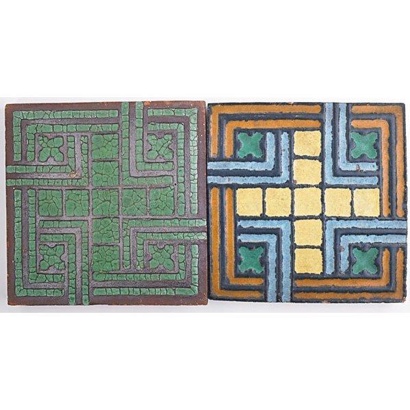GRUEBY Two geometric tiles