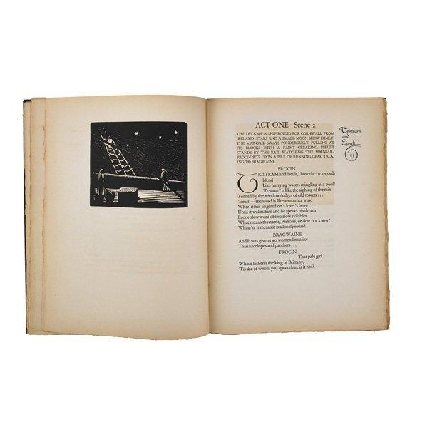 "WHARTON ESHERICK ""Tristram and Iseult"" book"