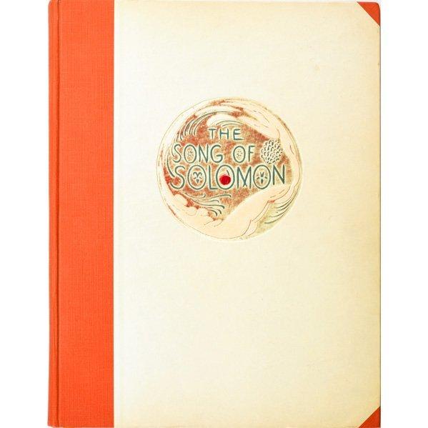 """WHARTON ESHERICK """"Song of Solomon"""" book"""