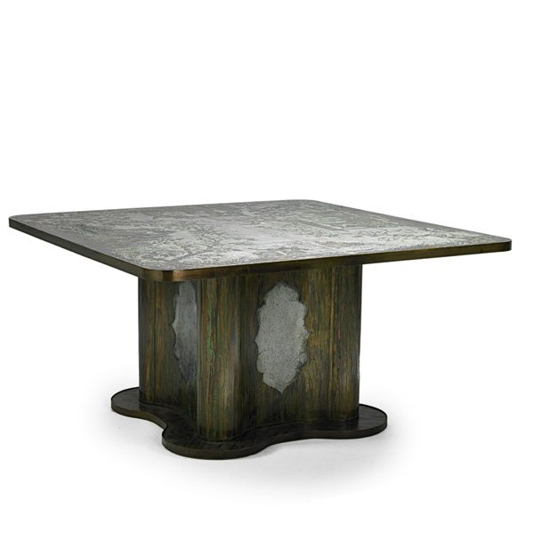 PHILIP AND KELVIN LaVERNE Exceptional dining table