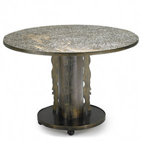 PHILIP AND KELVIN LaVERNE Etruscan dining table
