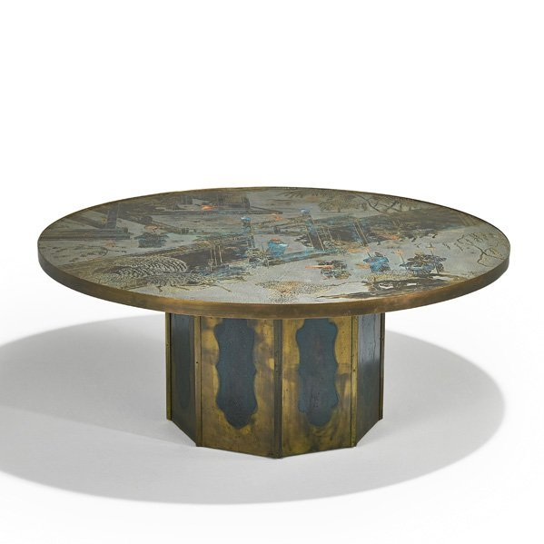 AND KELVIN LaVERNE Chan coffee table