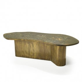 PHILIP AND KELVIN LaVERNE Coffee table
