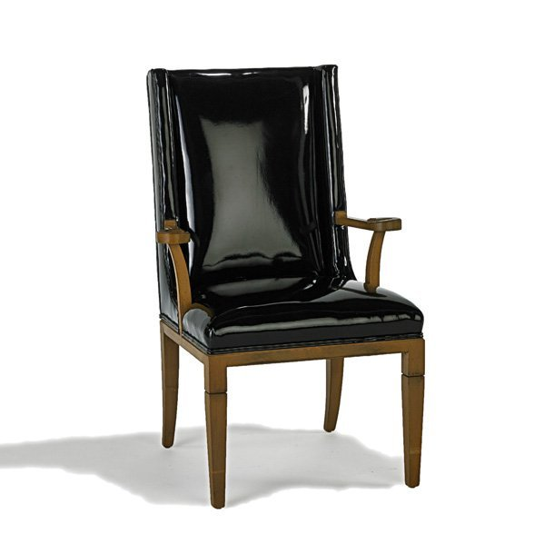 TOMMI PARZINGER Tall-back armchair