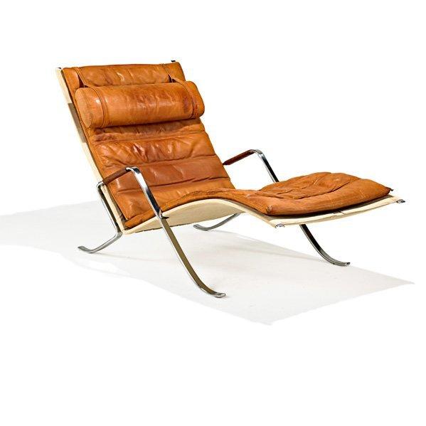 PREBEN FABRICIUS Grasshopper lounge chair