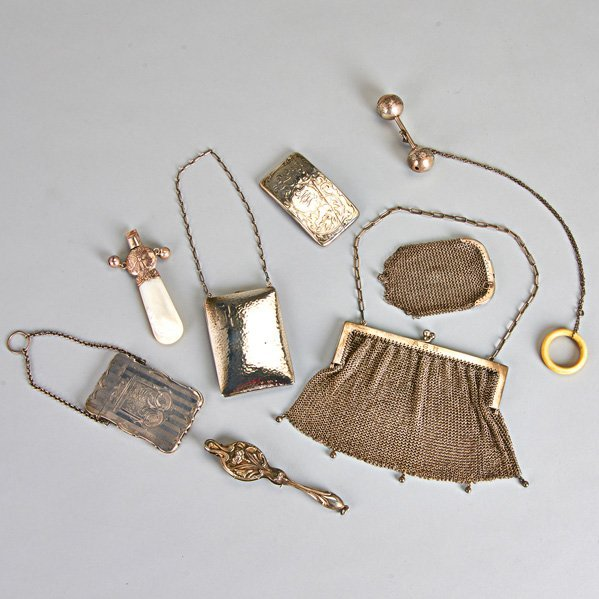AMERICAN AND FOREIGN SILVER ACCESSORIES