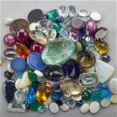 COLLECTION OF ASSORTED UNMOUNTED GEMSTONES