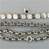 CONTEMPORARY FASHION STERLING JEWELRY