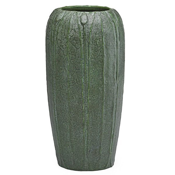 GRUEBY Vase with leaves and buds