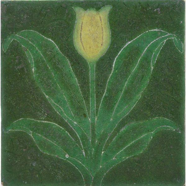 GRUEBY Tile w/ tulip