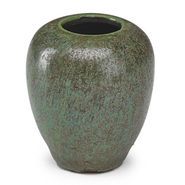 ADELAIDE ROBINEAU Miniature glaze test vase