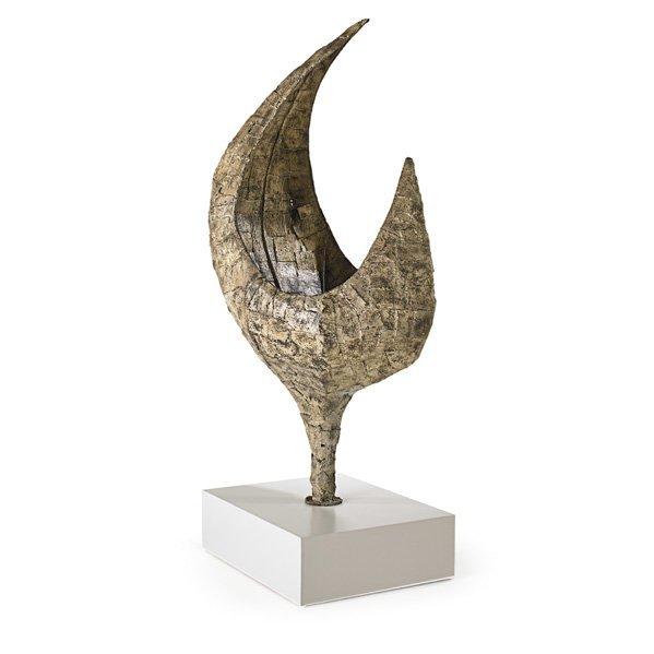PAUL EVANS Important steel Patchwork sculpture