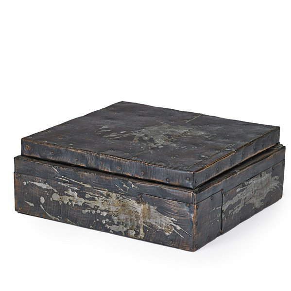 PAUL EVANS Patchwork hinged box