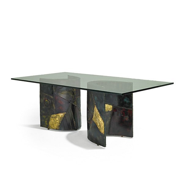 PAUL EVANS; DIRECTIONAL Dining table (PE-24)
