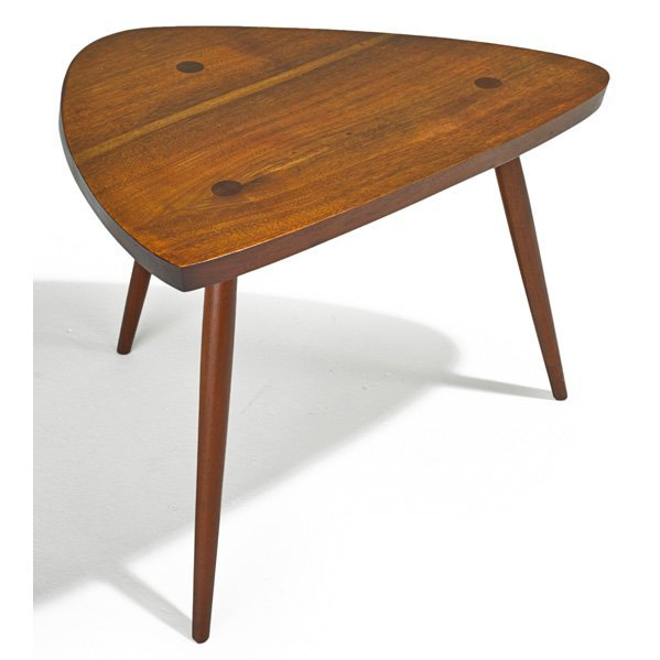 PHIL POWELL Triangular side table