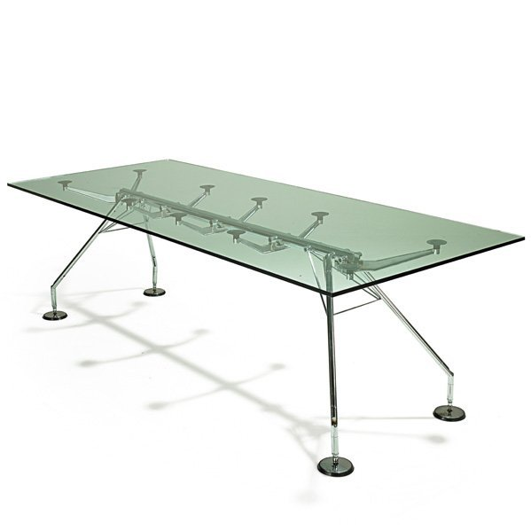 LORD NORMAN FOSTER; TECNO Nomos dining table
