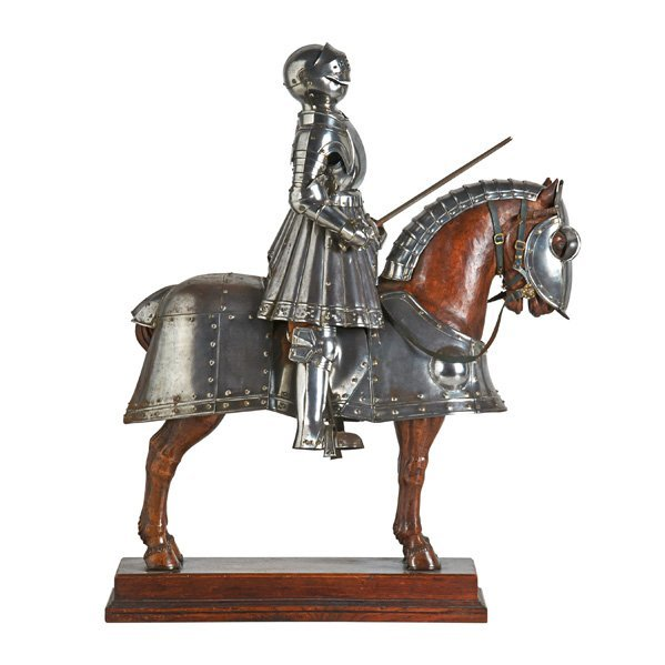 STYLE OF E. GRANGER MINIATURE SUIT OF ARMOR