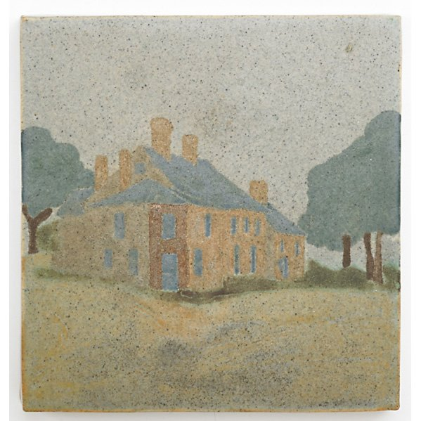 MARBLEHEAD Tile w/ house