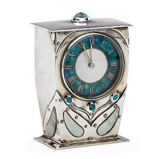 ARCHIBALD KNOX; LIBERTY & CO. Fine Cymric clock