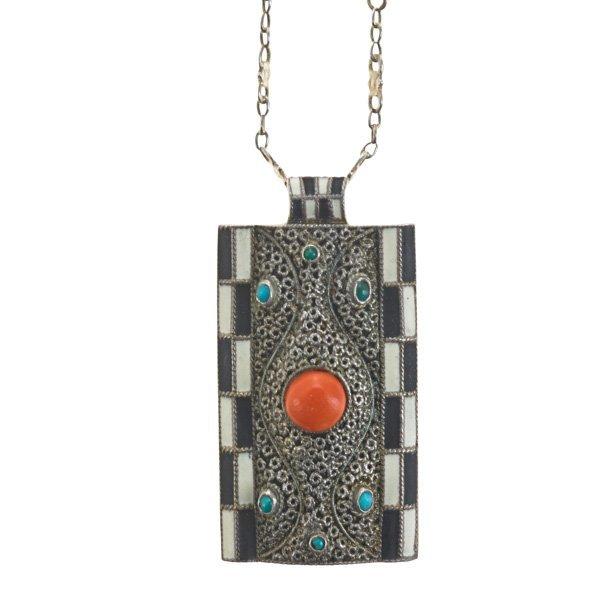 THEODOR FAHRNER Mosaic pendant
