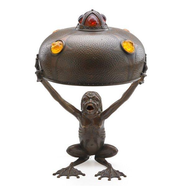 AUSTRIAN Grotesque lamp