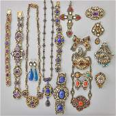 RENAISSANCE REVIVAL SILVER JEWELRY COLLECTION