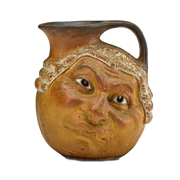 ROBERT W. MARTIN; MARTIN BROTHERS Double-sided jug